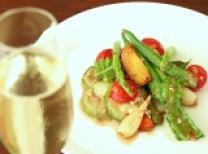 焼き野菜の温かいサラダ
